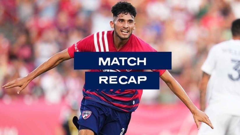 RECAP: FC Dallas Downs LA Galaxy 4-0 after Ricardo Pepi's Record-Setting Hat Trick