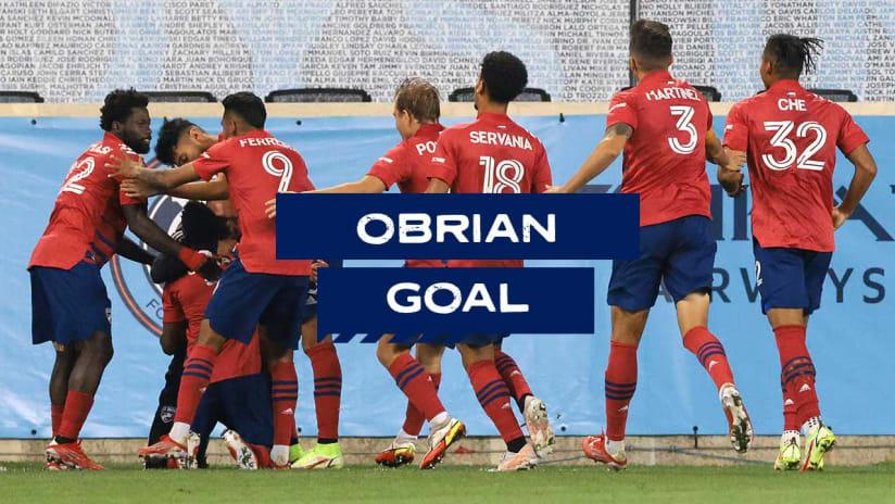 GOAL: Jáder Obrian, FC Dallas - 4th minute
