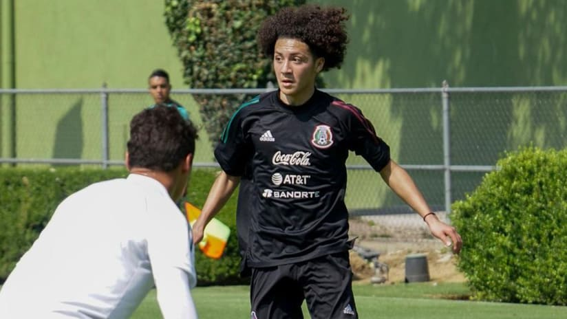 FC Dallas Academy Midfielder Anthony Ramirez Competes with Mexico U-18 Team