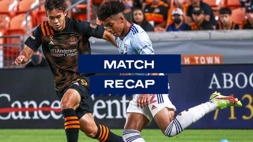 RECAP: FC Dallas Mounts Late Rally But Falls 3-2 On The Road To Houston Dynamo FC