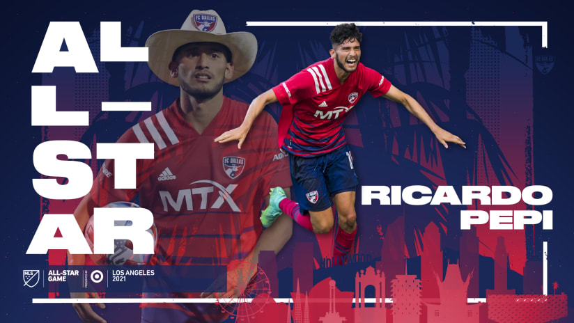 FC Dallas Homegrown Ricardo Pepi Selected for 2021 MLS All-Star Game Presented by Target