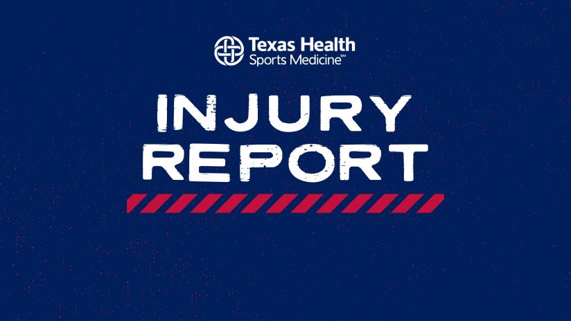 Injury Report pres. by Texas Health Sports Medicine: FC Dallas vs. Seattle Sounders | 8.4.21
