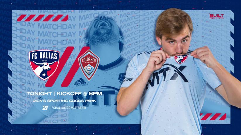 HOW TO WATCH: FC Dallas vs. Colorado Rapids | 7.21.21