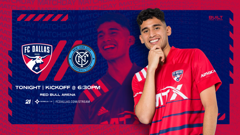 HOW TO WATCH: FC Dallas vs. New York City FC   9.14.21