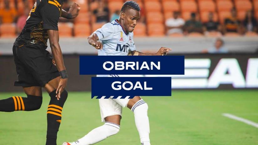 GOAL: Jáder Obrian, FC Dallas - 86th minute