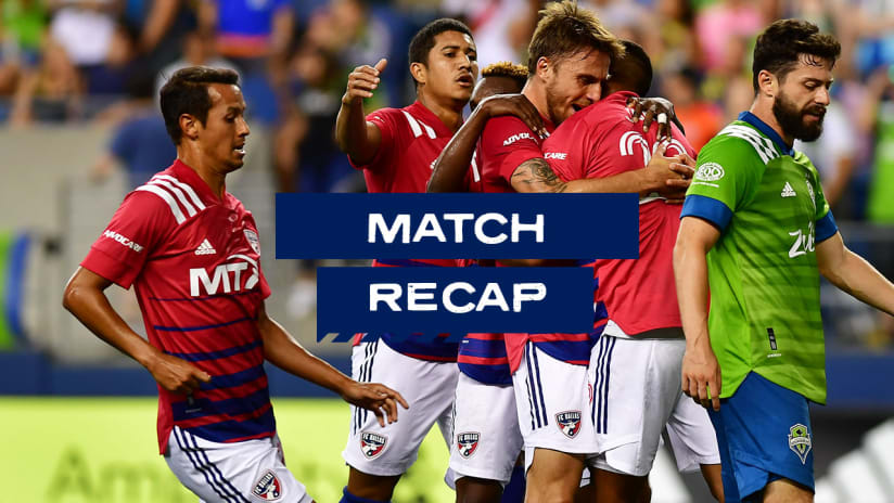 RECAP: FC Dallas Scores Late Equalizer to Earn Point on the Road Against Seattle Sounders FC