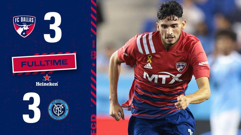 HIGHLIGHTS: New York City FC vs. FC Dallas | September 14, 2021