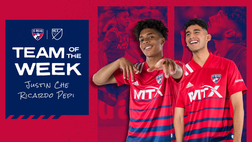 FC Dallas Homegrown Justin Che Named to MLSsoccer.com's Week 24 Team of the Week
