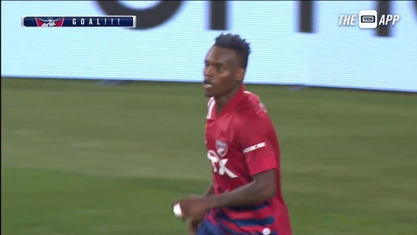 GOAL: Jáder Obrian, FC Dallas - 73rd minute