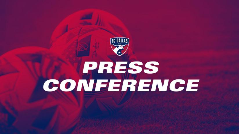 PRESS CONFERENCE: FC Dallas President Dan Hunt and Technical Director Andre Zanotta