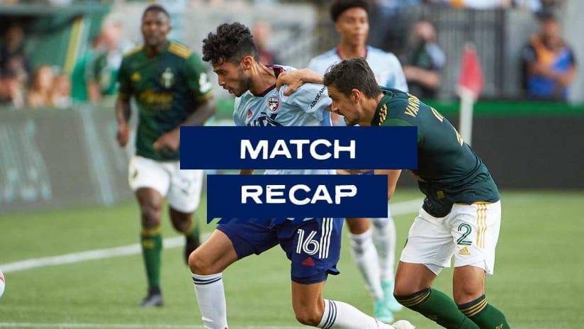 RECAP: FC Dallas Falls 1-0 to Portland Timbers