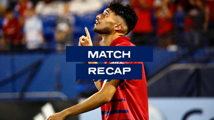 RECAP: FC Dallas Comes From Behind to Earn a 1-1 Draw with the San Jose Earthquakes