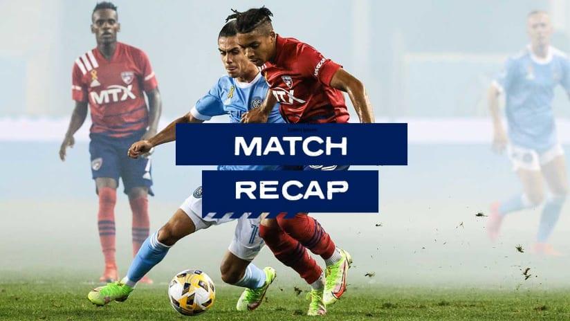 RECAP: FC Dallas Splits Points With New York City FC