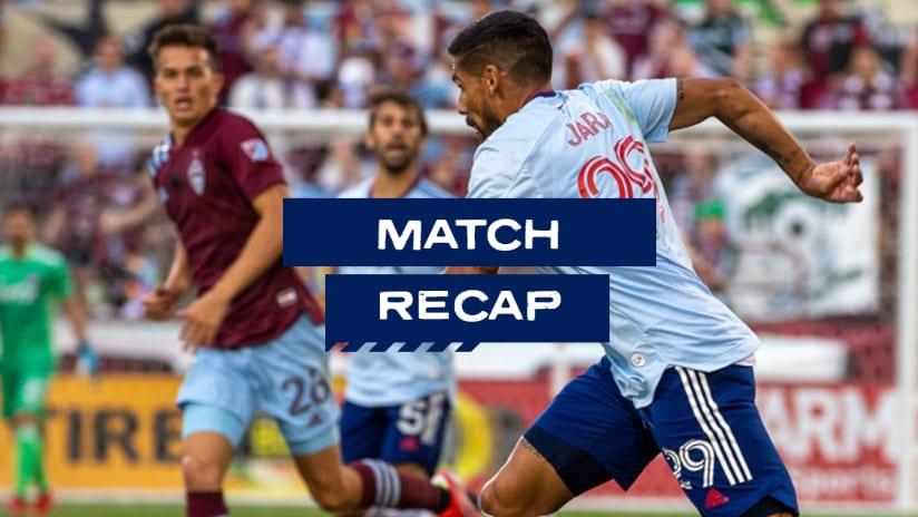 RECAP: FC Dallas Falls 2-0 to Colorado Rapids