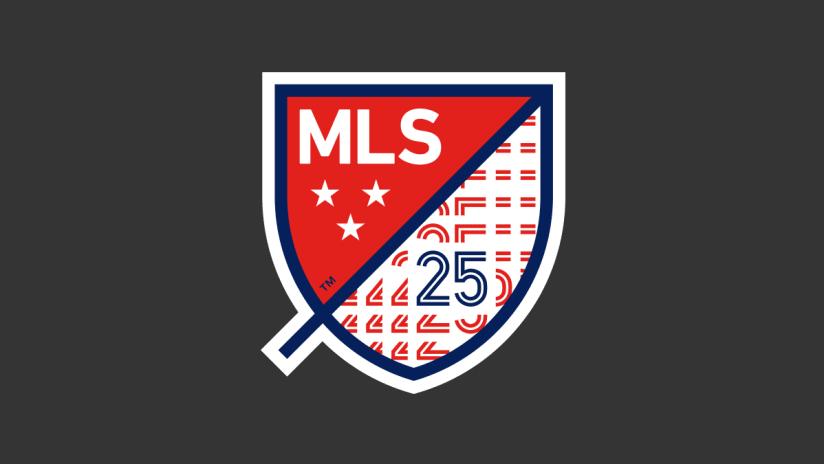 MLS 25th anniversary logo DL