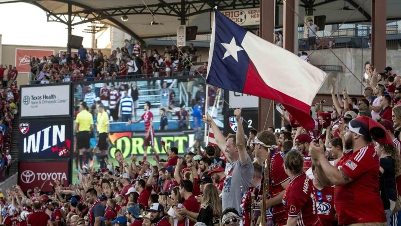 Texas Flag Fans Seattle