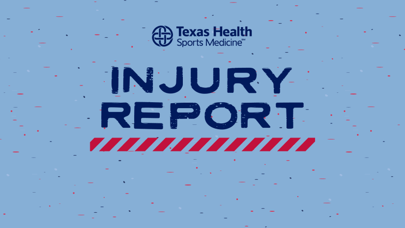 Injury Report pres. by Texas Health Sports Medicine: FC Dallas vs. Colorado Rapids | 7.21.21