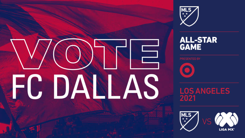 Thirteen FC Dallas Players Available for Selection for 2021 MLS All-Star Game presented by Target