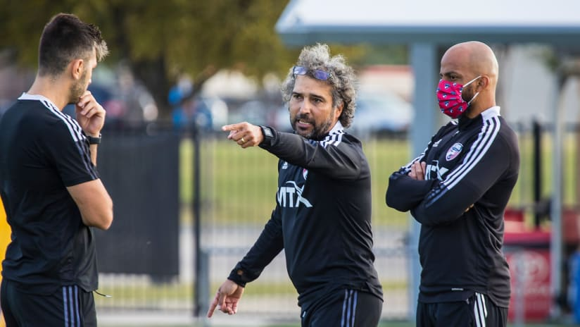Marco Ferruzzi Stresses Intensity in First Training Session as Interim Head Coach