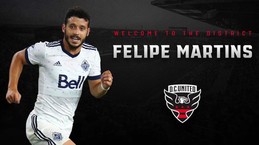 Felipe Martins announcement