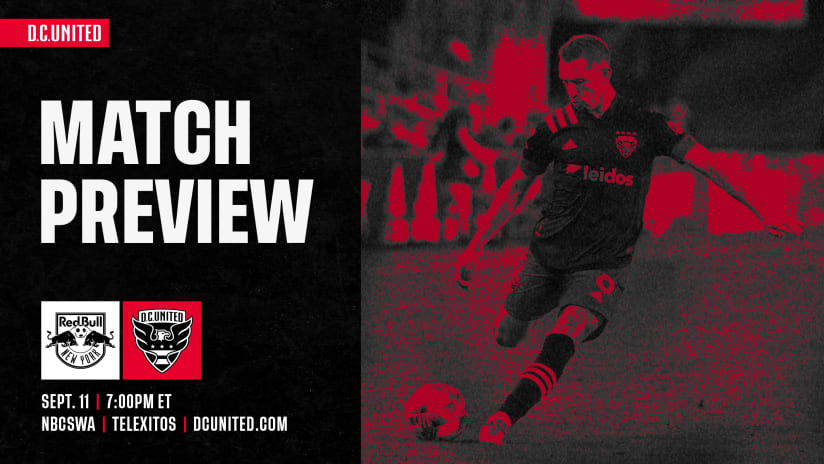 Match Preview | #RBNYvDC