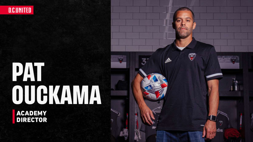 D.C. United Name Patrick Ouckama as Academy Director