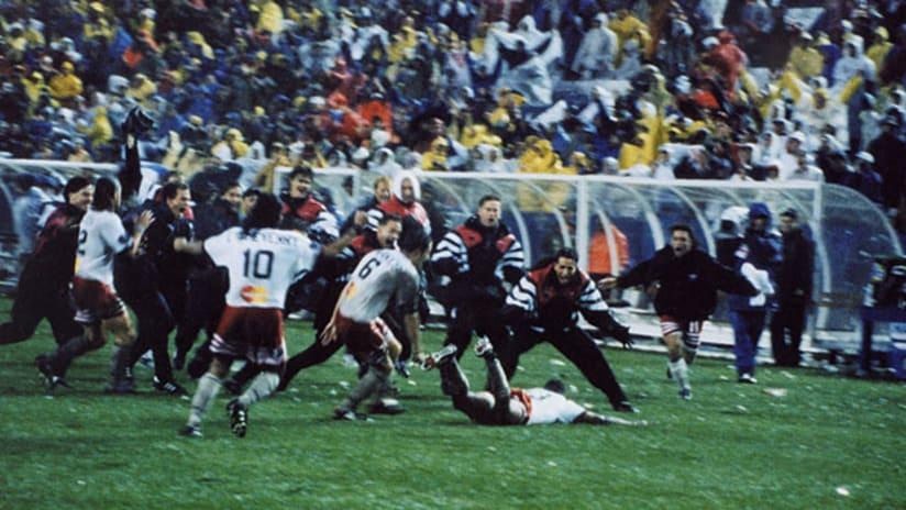 1996 mls cup eddie pope golden goal slide
