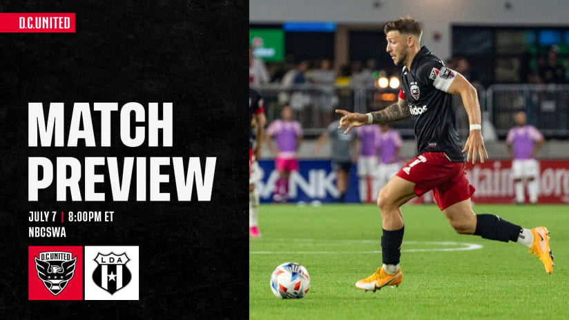 Match Preview | Capital Cup | D.C. United vs. Alajuelense