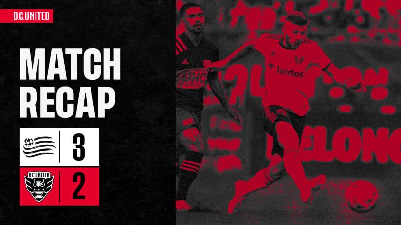 Match Recap | #NEvDC