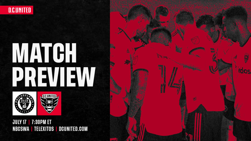 Match Preview | #PHIvDC