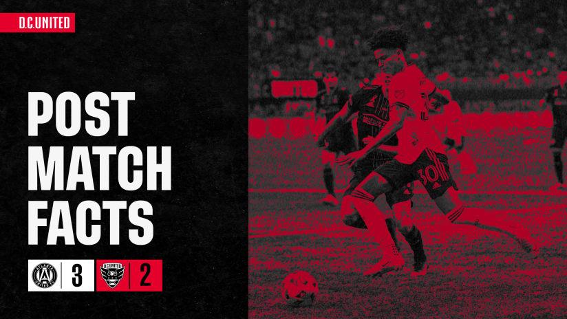 Post-Match Facts | #ATLvDC