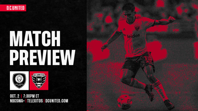 Match Preview | #ORLvDC