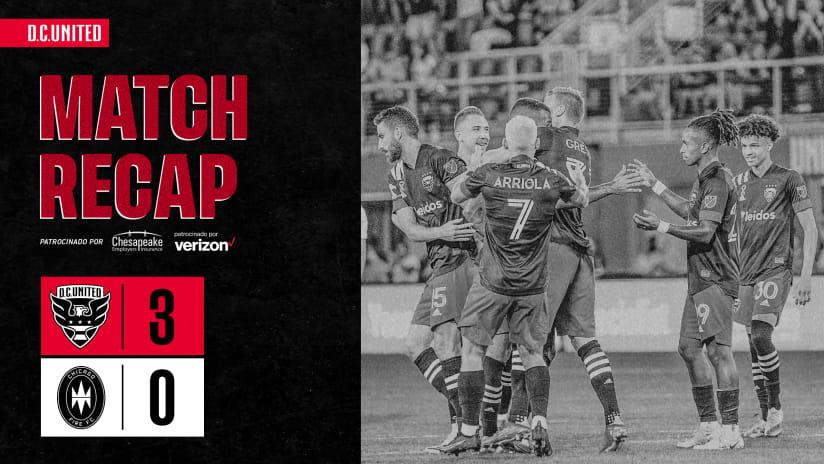 Match Recap - September 15, 2021 | #DCvCHI