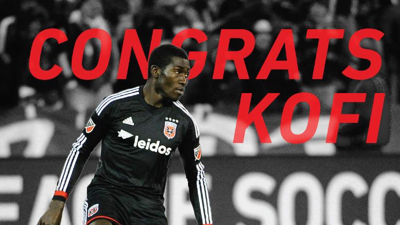 IMAGE: Congrats Kofi
