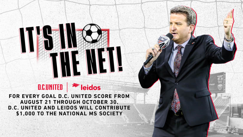 D.C. United & Leidos Partner to Commit up to $20,000 to the National Multiple Sclerosis Society