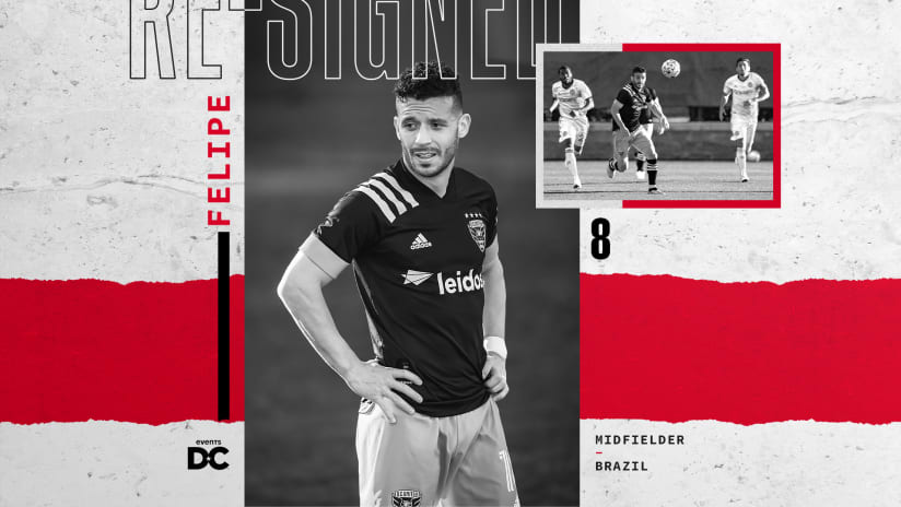 Felipe re-sign