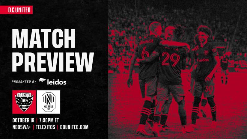 Match Preview | #DCvNSH