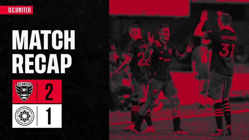 Match Recap | #DCvMTL