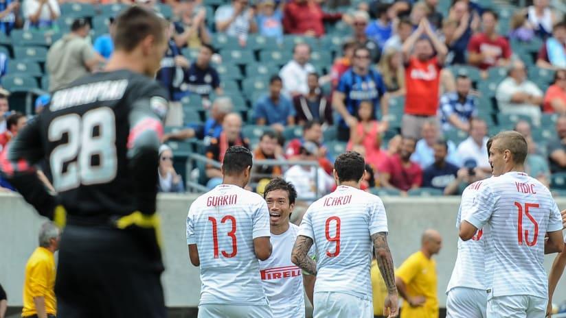 IMAGE: Inter celebration