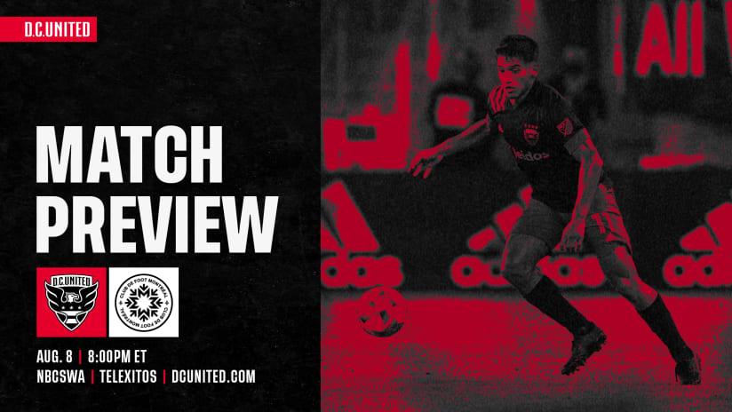 Match Preview | #DCvMTL