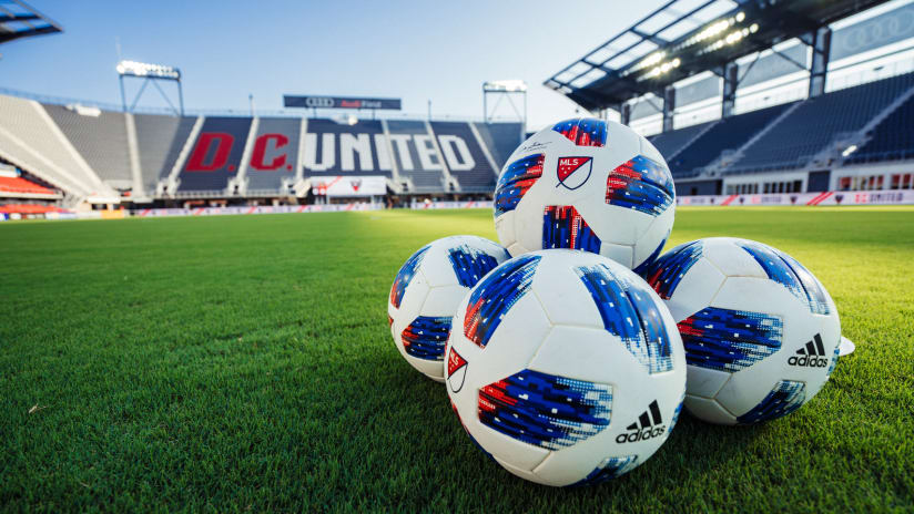 IMAGE: AUDI FIELD MLS ball