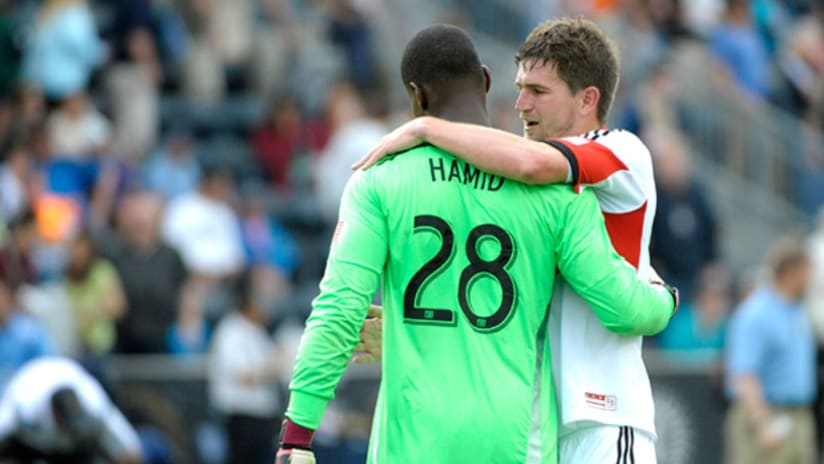 Bill Hamid and Bobby Boswell 5-10-14