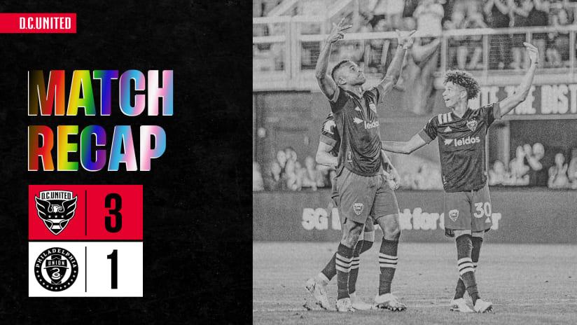 Match Recap | #DCvPHI