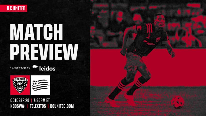 Match Preview | #DCvNE