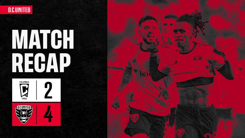 Match Recap | #CLBvDC