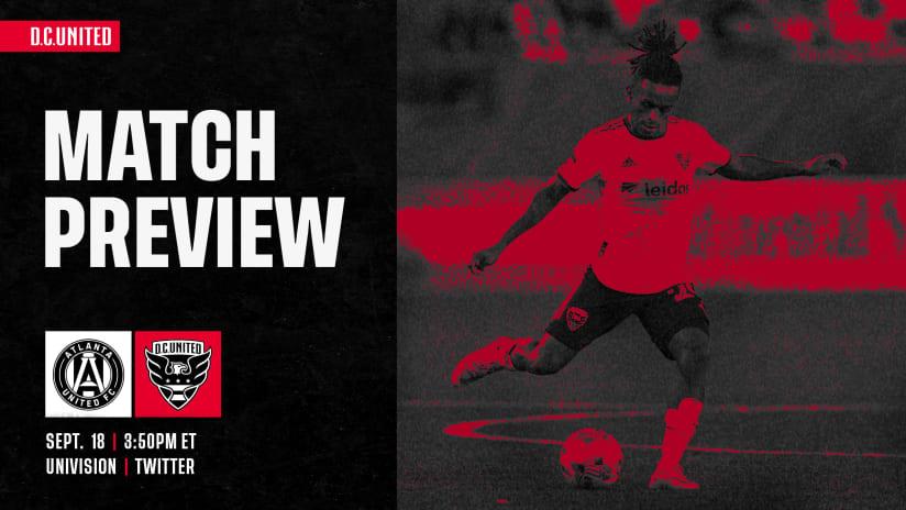 Match Preview | #ATLvDC