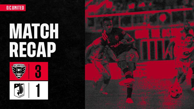 Match Recap | #DCvMIN