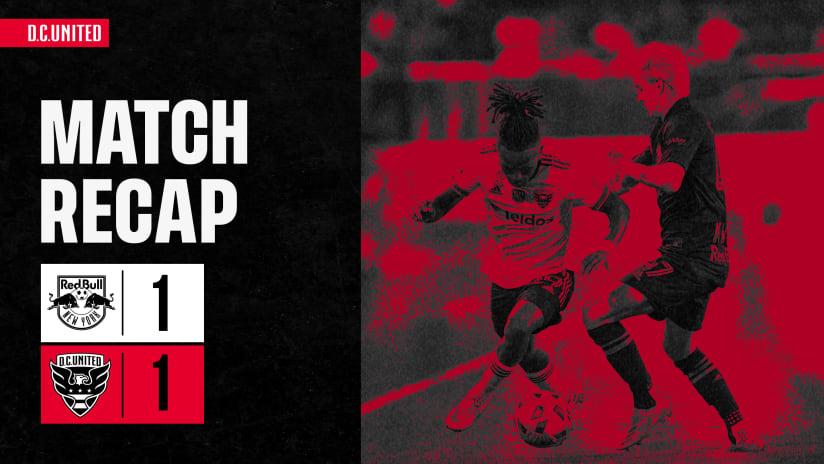 Match Recap - September 11, 2021 | #RBNYvDC