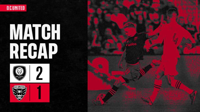 Match Recap | #ORLvDC