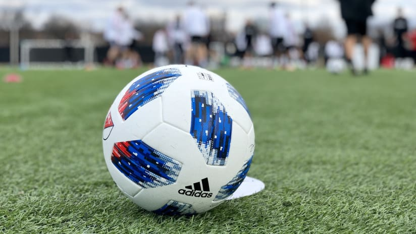 IMAGE: Ball at training